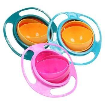 360-Degree Rotating Baby Bowl