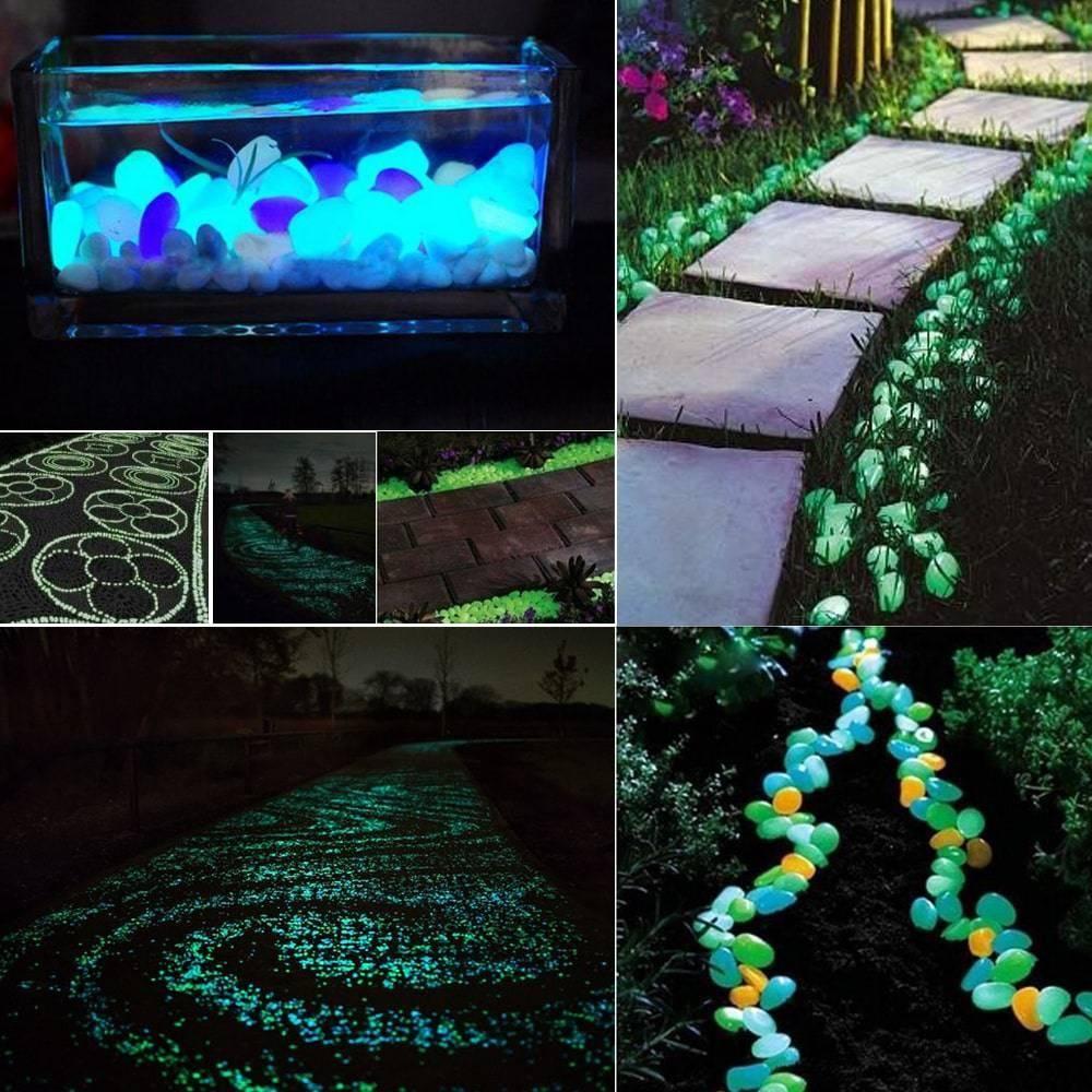 Garden Luminous Stones