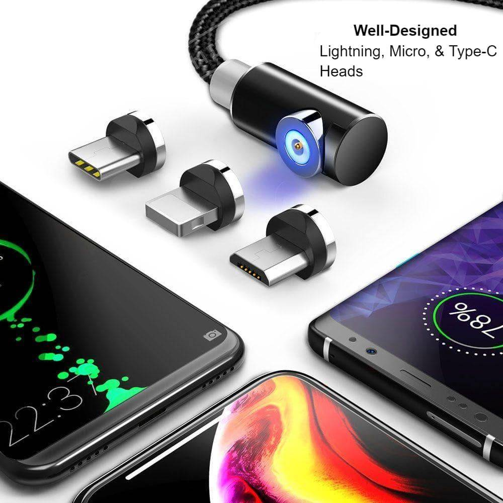 Indestructible Magnetic 3-in-1 Cable