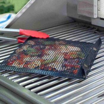 Kitchen Outdoor Grill Rack & Topper Dish