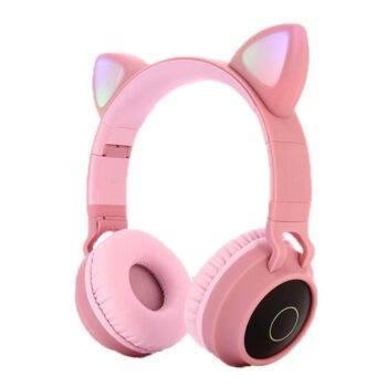Cat Ears Wireless Bluetooth 5.0 Headset
