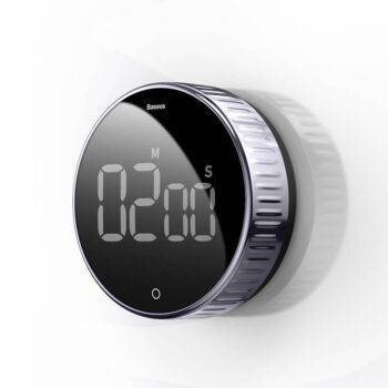 Compact Digital Kitchen Timer and Stopwatch