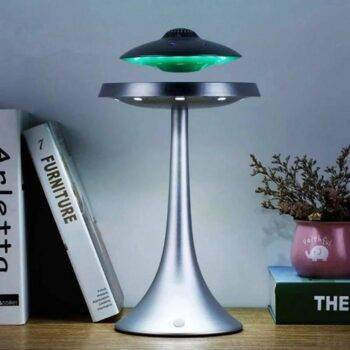 DJYG UFO Magnetic levitation bluetooth stereo Wireless charging ufo life Wireless bluetooth speakers Fashion lamp