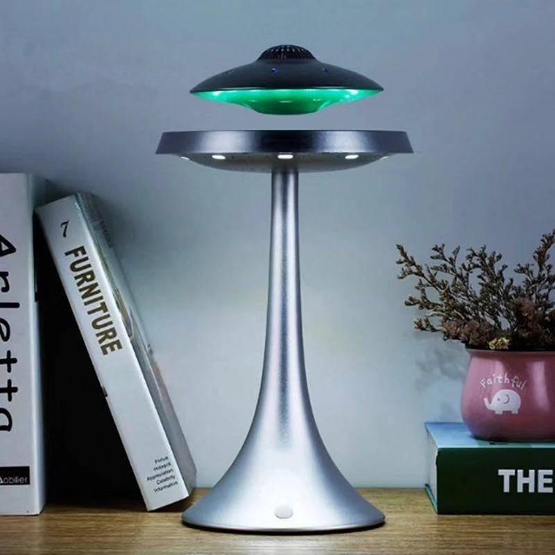 DJYG UFO Magnetic levitation bluetooth stereo Wireless charging ufo life Wireless bluetooth speakers Fashion lamp