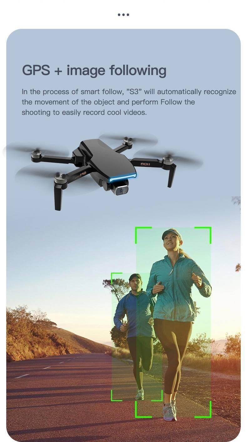 GPS Professional Drone With Camera 4k HD 5G WiFi