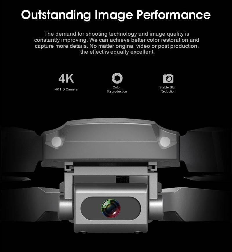 LSRC E68 pro Mini Drone Wide Angle 4K 1080P WiFi