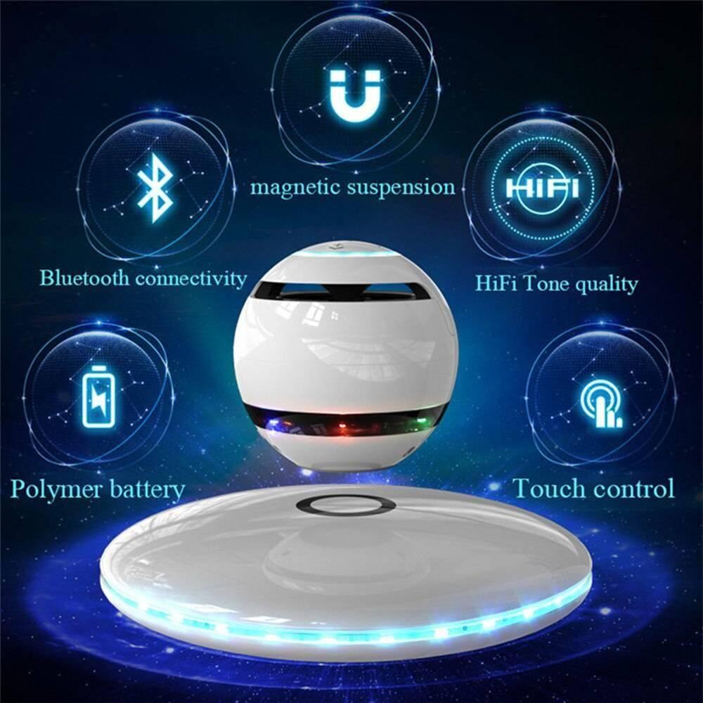 Levitation Bluetooth Speaker Levitating Floating Magnetic Wireless Speaker