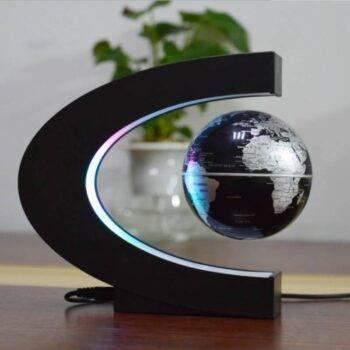 Magnetic Levitation Globe LED Night Light Novelty Floating Earth Lamp Creative Decoration Light Lighting Student Children Gift