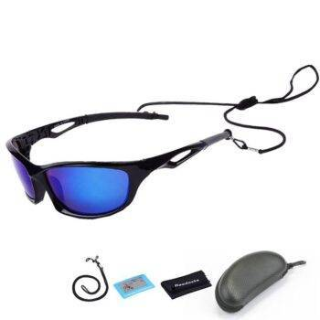 Polarized Fishing Sunglasses with Anti-Lost Strap