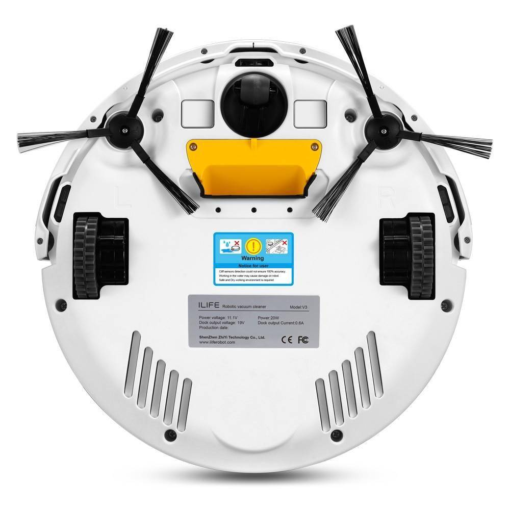 Self-Charging Cyclone Robot Vacuum Cleaner