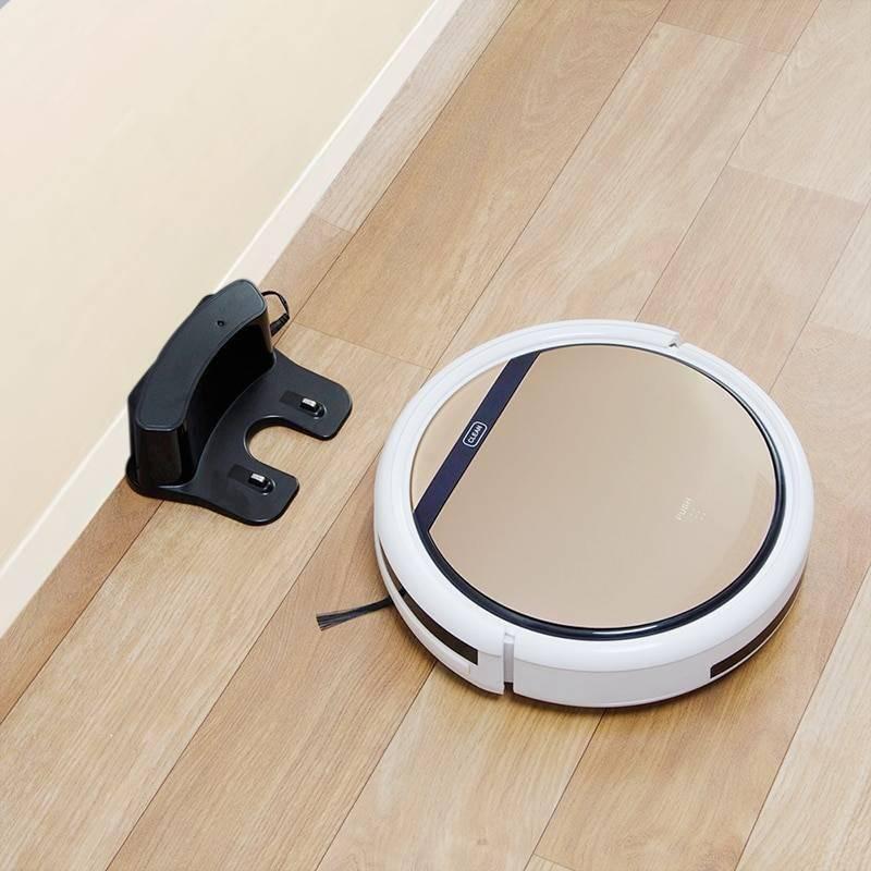 Self-Charging Robot Vacuum Cleaner