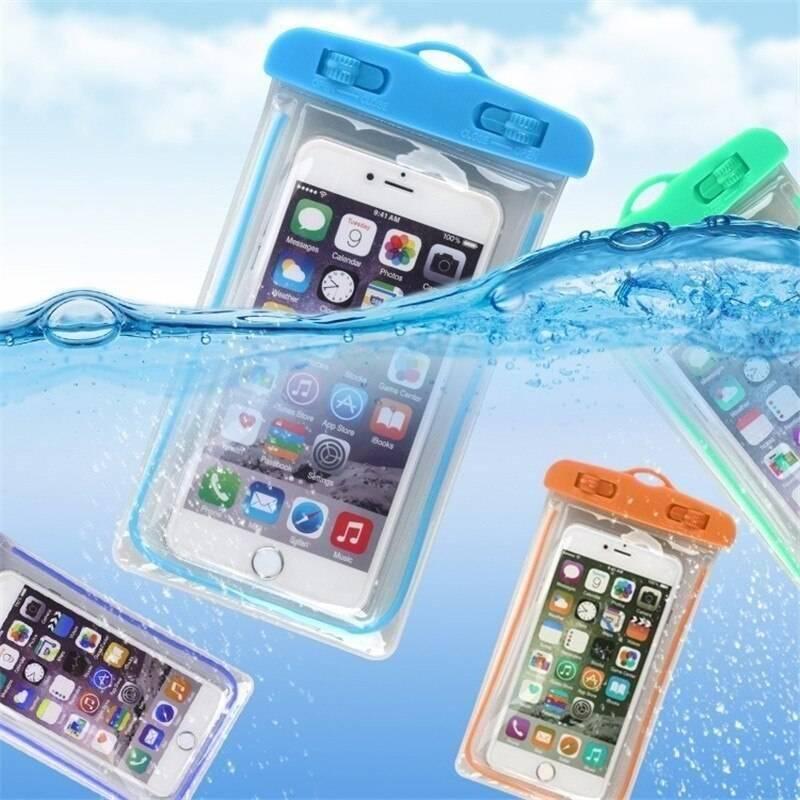 Summer Luminous Waterproof Pouch Swimming Gadget Beach