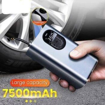 7500mAh Portable Car Air Compressor 12V