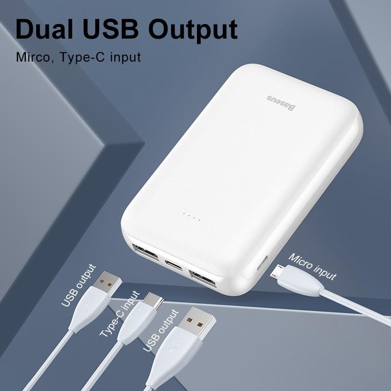 10000mAh Mini Portable External Battery