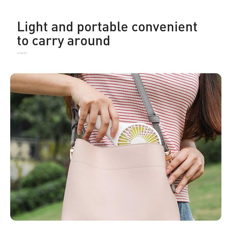 Rechargeable Battery USB Portable Fan Electric