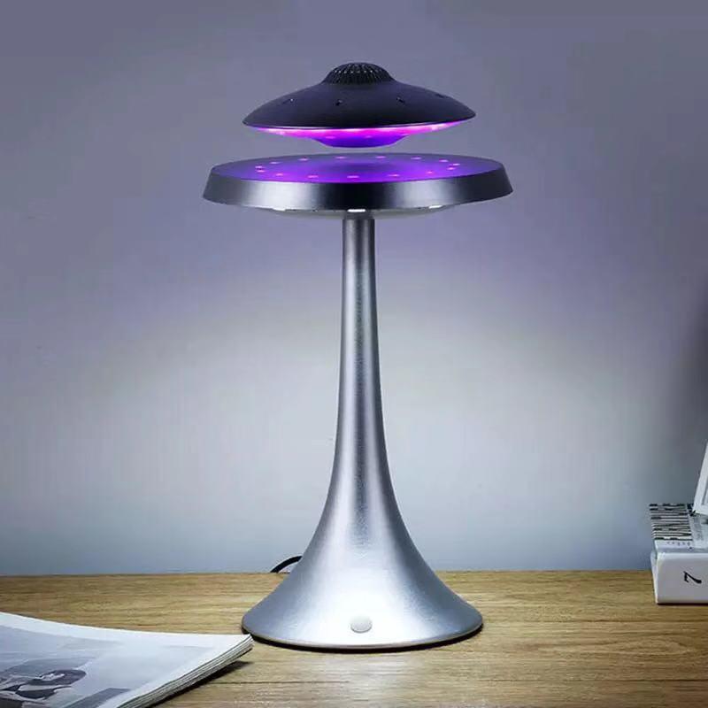 UFO Magnetic Levitation Bluetooth Stereo Wireless Speakers