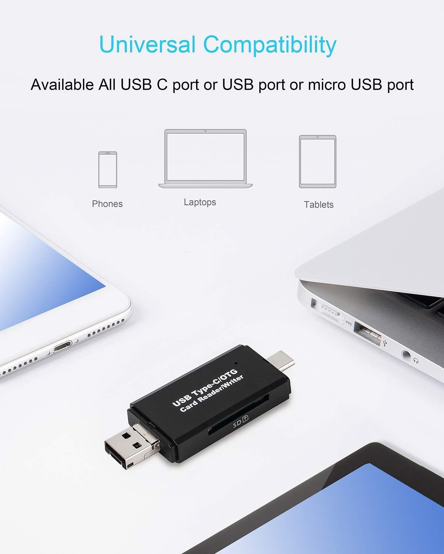 USB-C CompactFlash Memory Card Reader