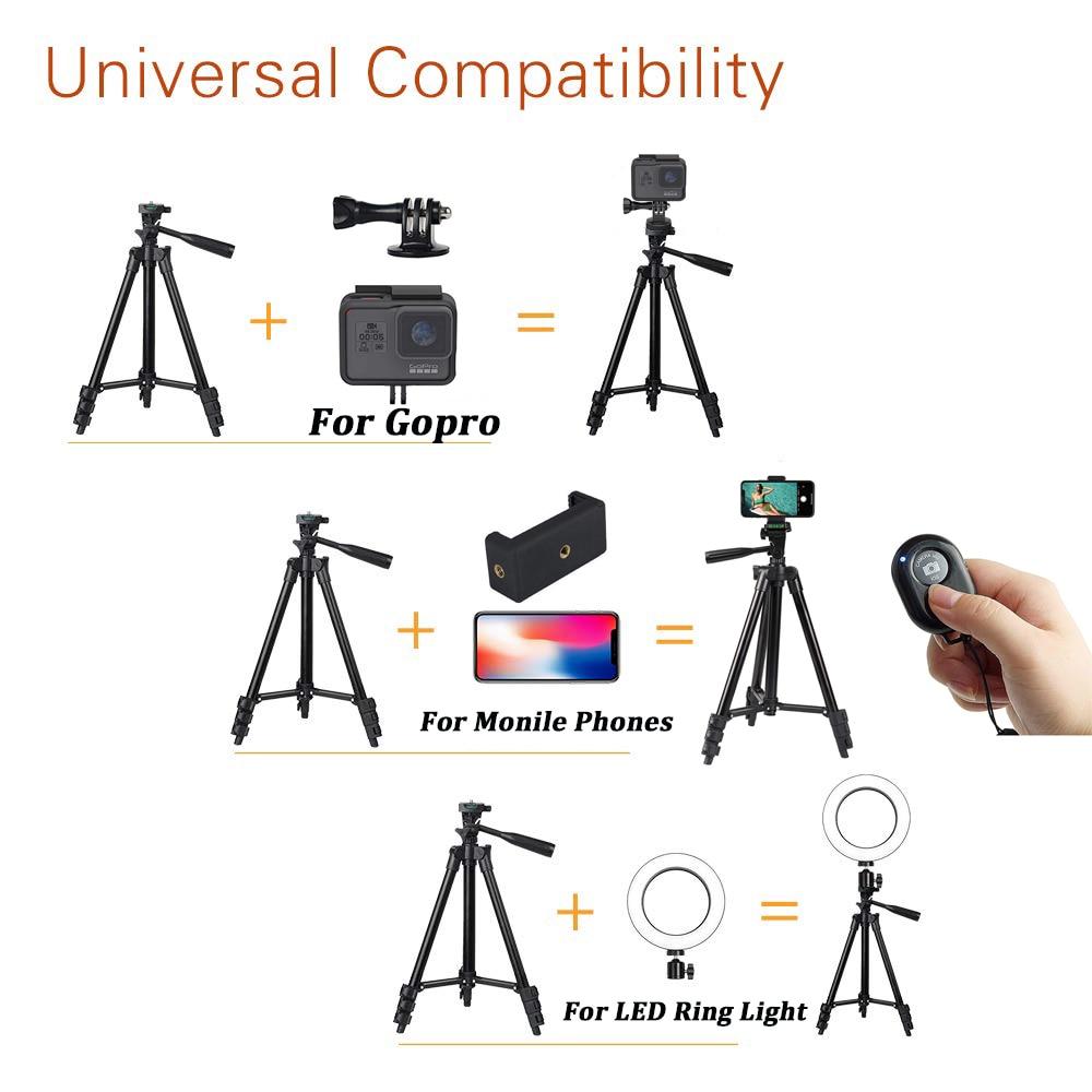 Portable Phone TriPod for iPhone Xiaomi HUAWEI Gopro Compact