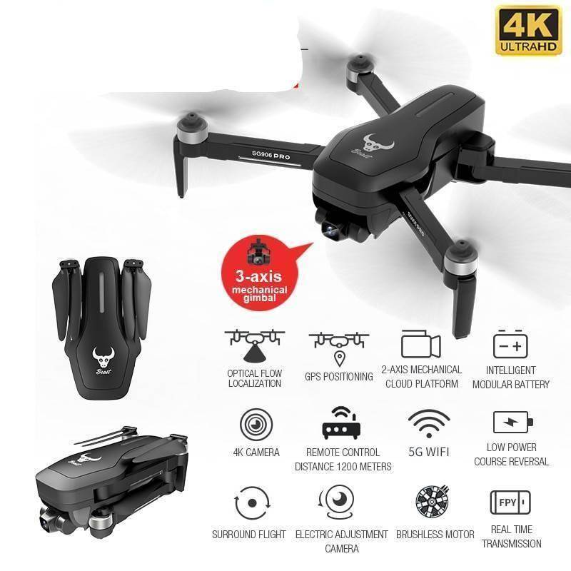 SG906 PRO 2 GPS Professional Drone With 4K HD Camera